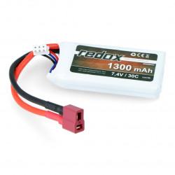 Pakiet LiPol Redox 1300mAh 30C 2S 7.4V