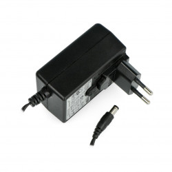 Power supply Spotlux 12V/1A with removable EU adapter - DC plug 5,5/2,1mm