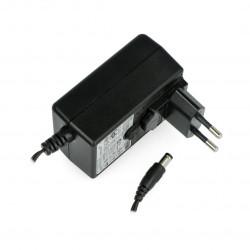 Zasilacz impulsowy Spotlux 12V/1A z wyjmowanym adapterem EU - wtyk DC 5,5/2,1mm