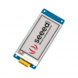 Grove - E-Paper E-Ink 2,13'' 212x104px - moduł z wyświetlaczem trójkolorowym UART