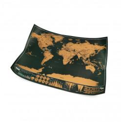 Mapa Świata zdrapka B9B1 - 30x42 cm