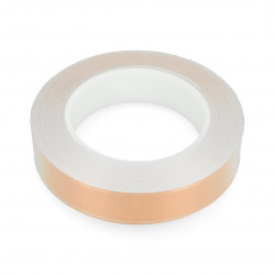 Cooper tape EMI with glue 25mm x 30m