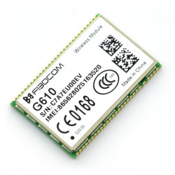 Moduł GSM/GPRS Fibocom GSM-G610-Q20-00 - UART/I2C