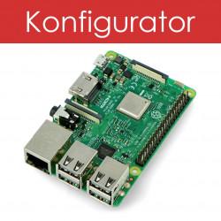 Zestaw Raspberry Pi 3 model B + obudowa + zasilacz