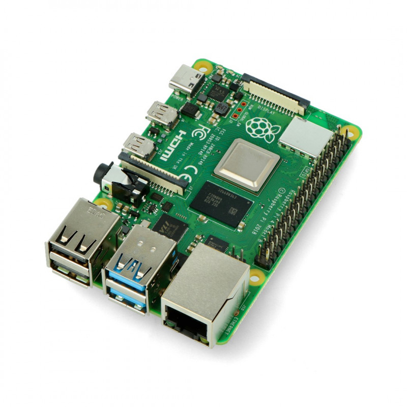 Raspberry Pi 4 model B WiFi Dual Band Bluetooth 4GB RAM 1.5GHz_