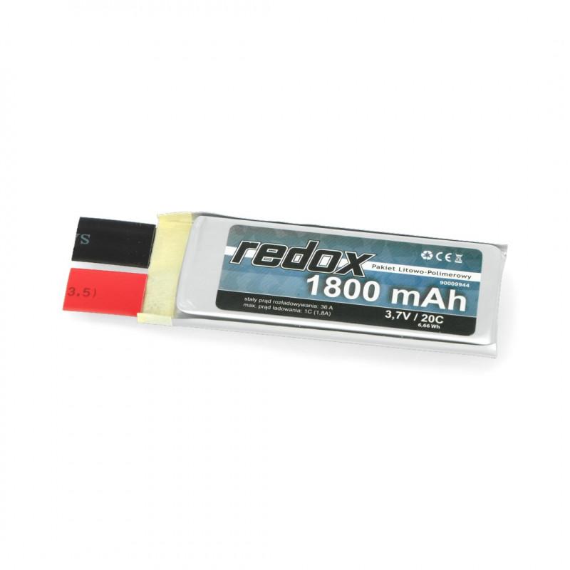 Ogniwo Li-Pol Redox 1800mAh 20C 1S 3.7V