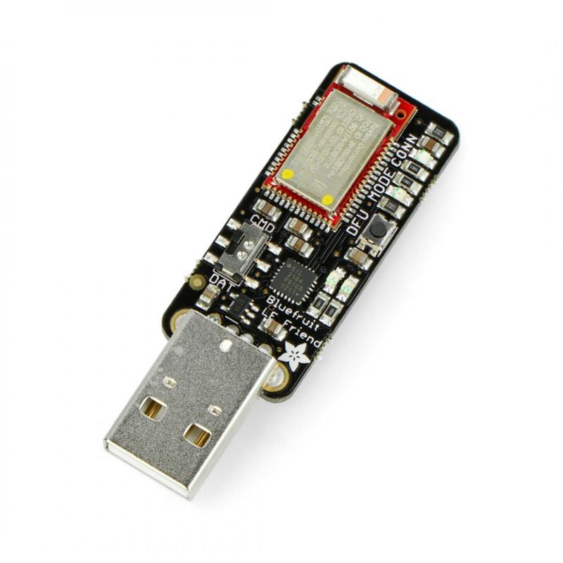 Adafruit Bluefruit LE USB Friend - Bluetooth Low Energy (BLE 4.0) - nRF51822 v1.0