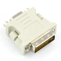 Przejściówka VGA (gniazdo) - DVI-D (wtyk)