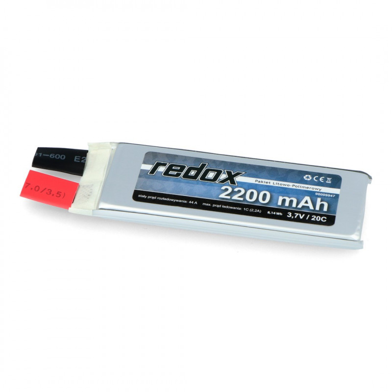 Redox Li-Pol cell 2200mAh 20C 1S 3.7V
