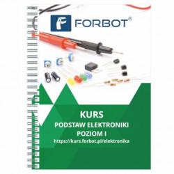 FORBOT - kurs podstaw elektroniki, poziom I - książka