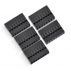 Złącze typu BLS - gniazdo 8x2 + piny - 5szt.