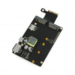 Khadas M2X - karta rozszerzeń SSD, 4G LTE, Nano SIM dla VIM3 i Edge-V