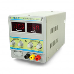 Zasilacz laboratoryjny WEP 3010D 30V 10A