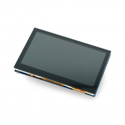 Touch Screen Waveshare - capacitive LCD 4,3'' 800x480px I2C/RGB