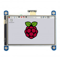 Touch Screen Waveshare (H) - resistive LCD 4'' 800x480px HDMI + GPIO for Raspberry Pi 4B/3B+/3B/Zero
