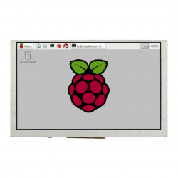 Screen Waveshare DPI - LCD IPS 5'' 800x480px for Raspberry Pi 4B/3B+/3B/Zero
