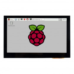Ekran dotykowy Waveshare B pojemnościowy LCD 4,3'' IPS 800x480px HDMI + USB dla Raspberry Pi 4B/3B/3B+Zero