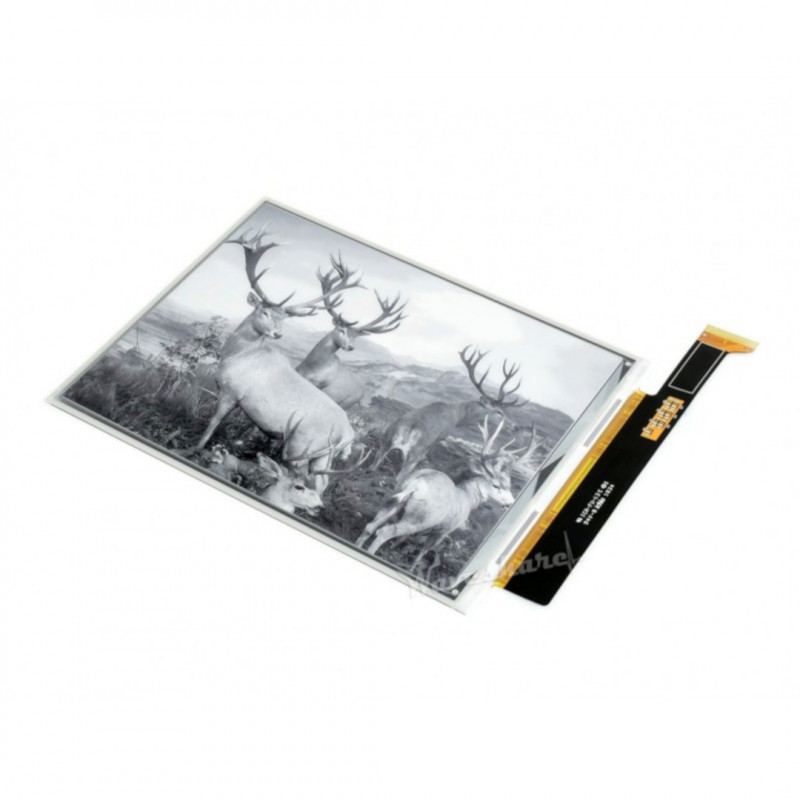 E-paper E-Ink 7.8'' 1872x1404px - display (without module) for Raspberry Pi 4B/3B+/3B/Zero - Waveshare 16711