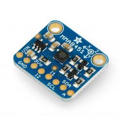 MMA8451 3-osiowy akcelerometr cyfrowy I2C - moduł Adafruit