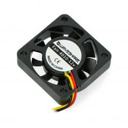 Fan 12V 40x40x10mm 3 wires