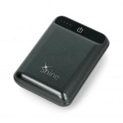 Mobilna bateria PowerBank Blow Shine PB20 10050mAh - czarny
