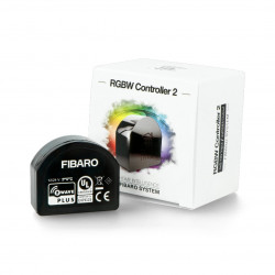 Fibaro RGBW 2 Controller FGRGBWM-442 ZW-5 - LED RGBW controller 12-24V Z-Wave