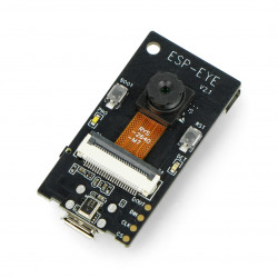 ESP-EYE - image and speech recognition - 2mpx camera, WiFi ESP32