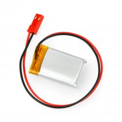 Akumulator Li-Pol Akyga 3,7V 1S 300mAh konektor+gniazdo 2,54 JST - 2 piny