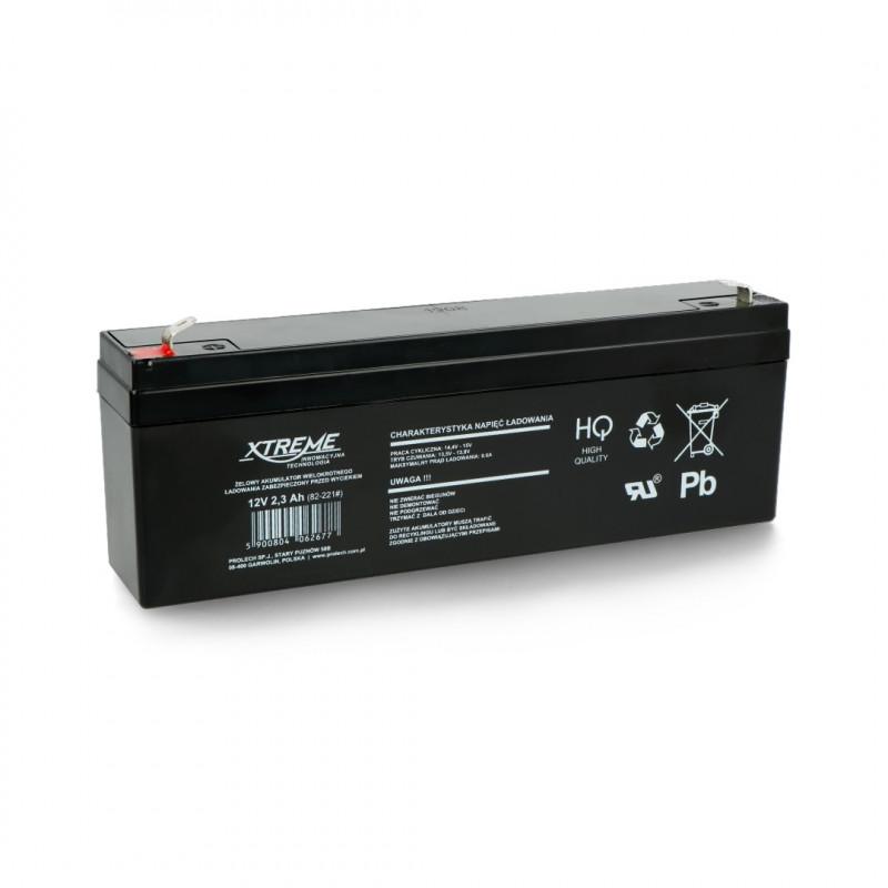 Gel battery 12V 2,3 Ah Extreme