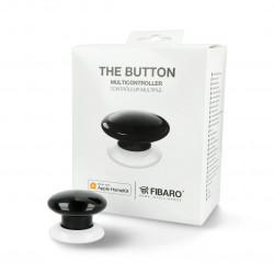 Fibaro Button HomeKit FGBHPB-101-2 - przycisk automatyki domowej - czarny