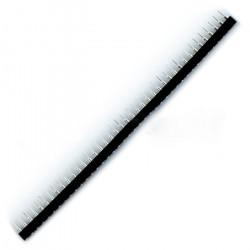 Listwa precyzyjna jednorzędowa 1x40 raster 2,54 mm - żeńska SIP40