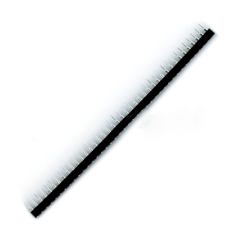 Precision single row 1x40 raster 2,54mm - female SIP40*