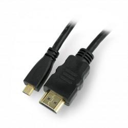Cable HDMI-microHDMI Blow Classic black - 1,5m