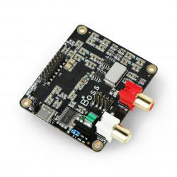 Boss DAC - karta dźwiękowa dla Raspberry Pi 3/2