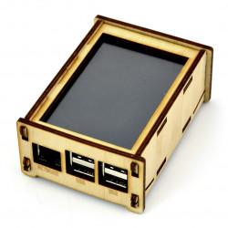 Obudowa do Raspberry Pi 2/3 i ekranu 3,5'' - drewniana