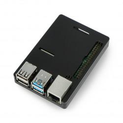 Case N300 for Raspberry Pi 4B - aluminum - black