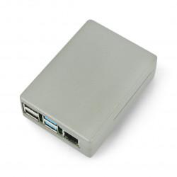 Obudowa Raspberry Pi model 4B - aluminiowa - LT-4BA04 - szara