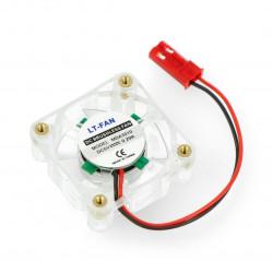 Wentylator 30x30x10mm - do obudowy Raspberry Pi - z podświetleniem