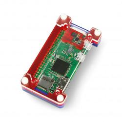 Pibow Zero W - Raspberry Zero W case - Pimoroni PIM258