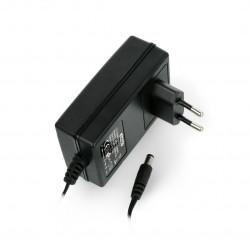 Zasilacz impulsowy 12V / 2A - wtyk DC 5,5/2,1mm