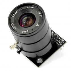Moduł kamery ArduCam OV5642 5MPx z+ obiektywem LS-CS mount