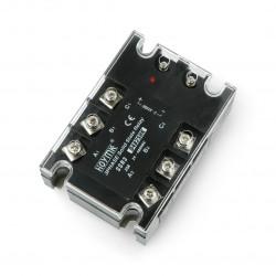 Przekaźnik półprzewodnikowy trójfazowy SSR HOYMK D4825HK 3x25A 380VAC / 32DC