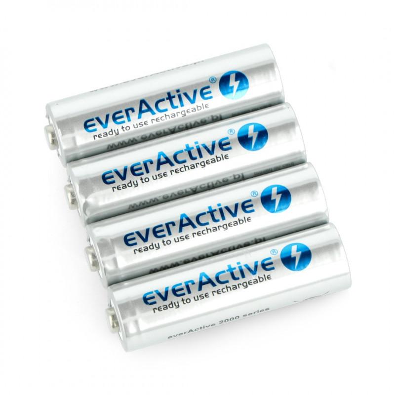 Akumulator EverActive Silver Line R6 AA Ni-MH 2000mAh - 4szt.