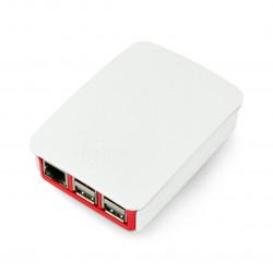 Obudowa Raspberry Pi Model 3B+/3B/2B oficjalna - czerwono-biała