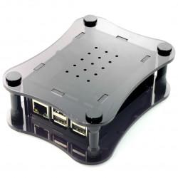 Obudowa Raspberry Pi + Boss przezroczysta akrylowa