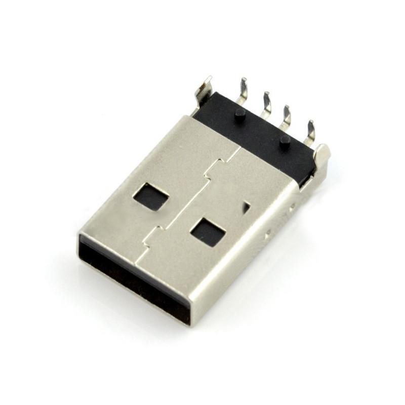 Wtyk USB typu A - do druku THT