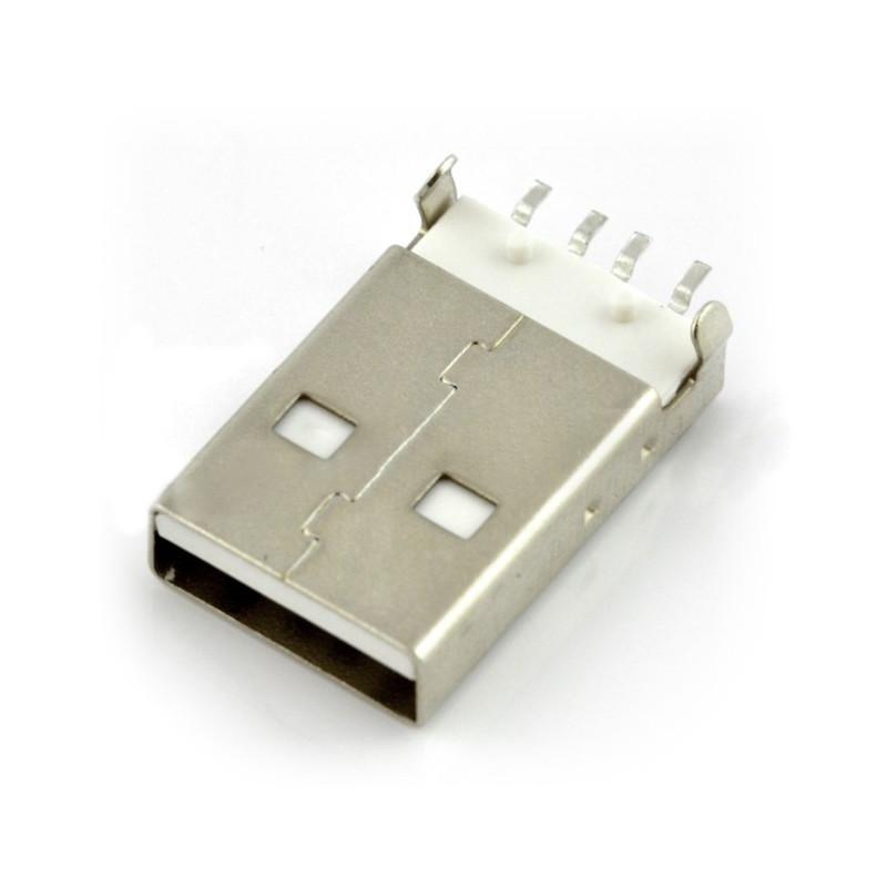 Wtyk USB typu A - SMD