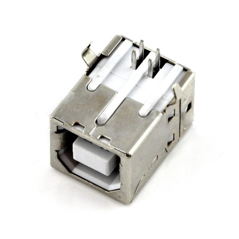 USB socket type B - THT*