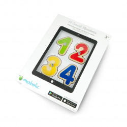 Marbotic Smart Numbers - educational game with wooden letters for tablet