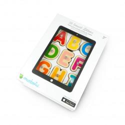Marbotic Smart Letters - gra edukacyjna z drewnianymi literkami do tabletu